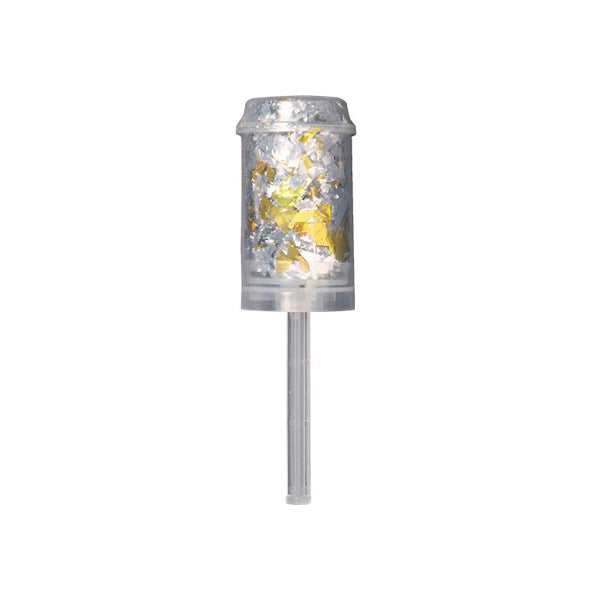 Gold & Silver Confetti Push Popper
