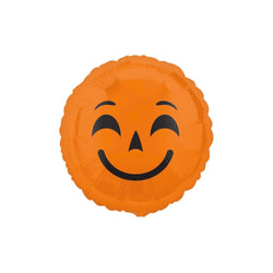 "Pumpkin Halloween Emoji 18"" Foil Balloon  Balloons Hello Party - All you need to make your party perfect! - Hello Party"