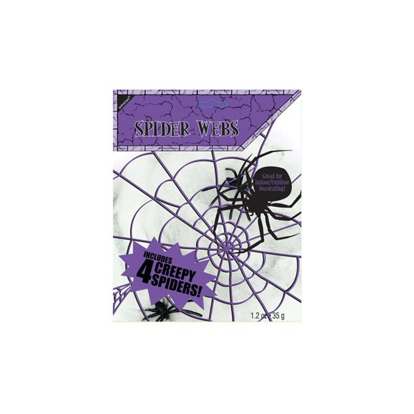 Creepy Spider Web Decoration  Halloween Decoration Hello Party - Hello Party