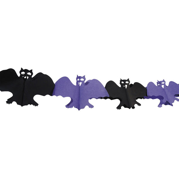 Halloween Paper Bat Garland  Garland Boland - Hello Party