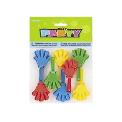 Hand Clappers  Party Favours Hello Party - All you need to make your party perfect!  - Hello Party