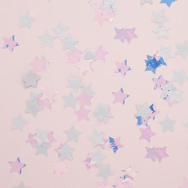 Spaced Out Star Confetti  Confetti Club Green - Hello Party