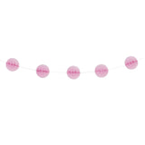 Pastel Pink Mini Honeycomb Garland