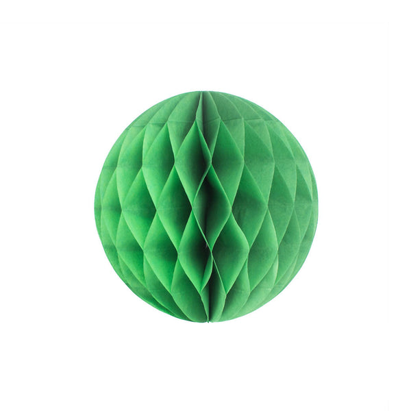 Green 20cm Honeycomb Ball  Honeycomb Ball Hello Party Essentials - Hello Party