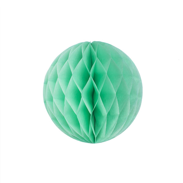 Mint 20cm Honeycomb Ball  Honeycomb Ball Hello Party Essentials - Hello Party
