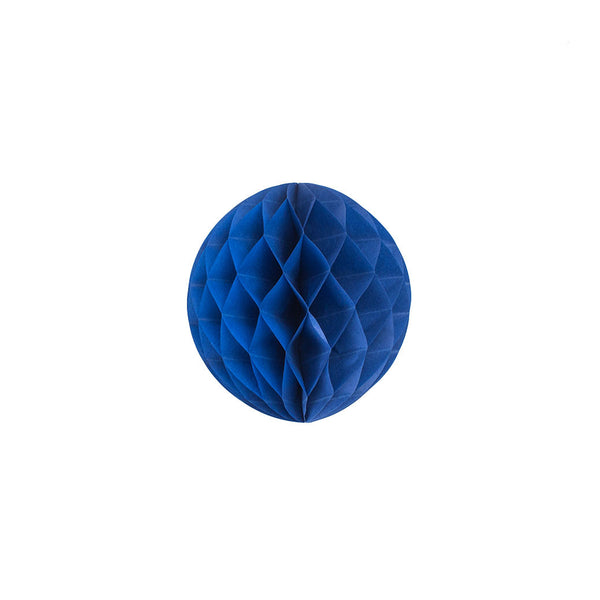 Dark Blue 15cm Honeycomb Ball  Honeycomb Ball Hello Party Essentials - Hello Party