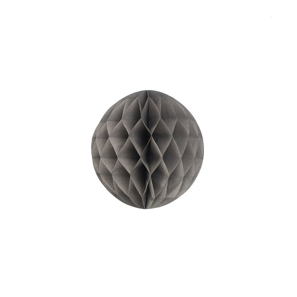 Grey 15cm Honeycomb Ball