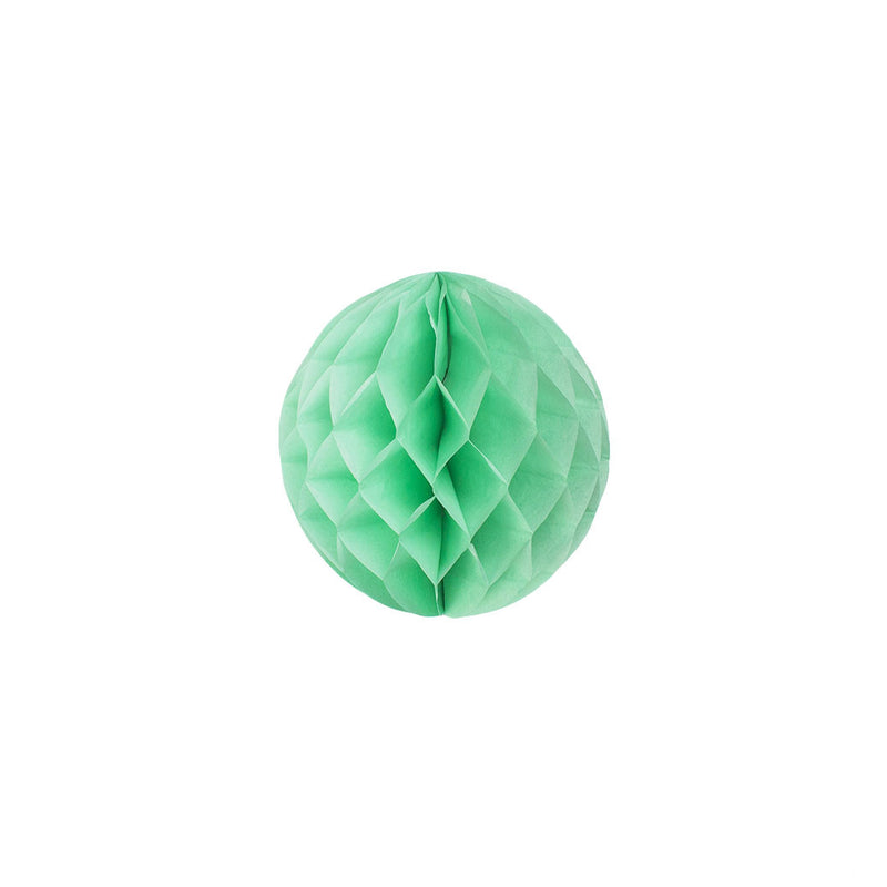 Mint 15cm Honeycomb Ball  Honeycomb Ball Hello Party Essentials - Hello Party