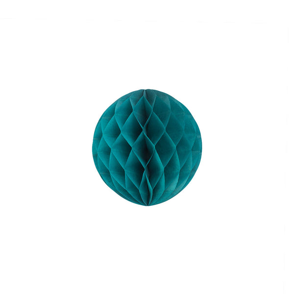 Teal 15cm Honeycomb Ball