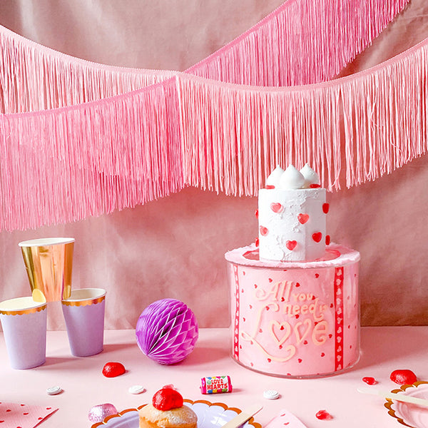 Slinky Fringe Garland  Tinsel Garland Hello Party - Hello Party