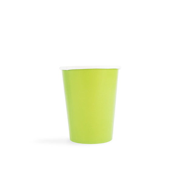 Plain Green Cups  Party Cups Hello Party - All you need to make your party perfect!  - Hello Party