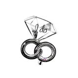 "I Do Wedding Rings 30"" Supershape Balloon"