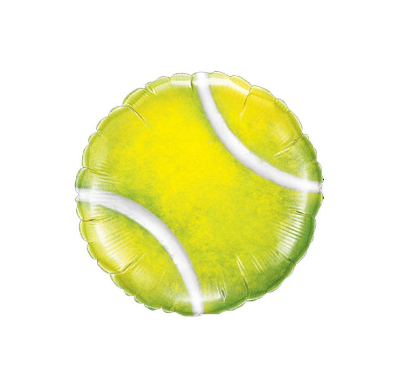 "Tennis Ball Foil Balloon (18"")  Balloons qualatex - Hello Party"