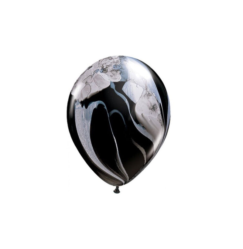Black and white marble balloons (pack of 3)   Hello Party - Hello Party