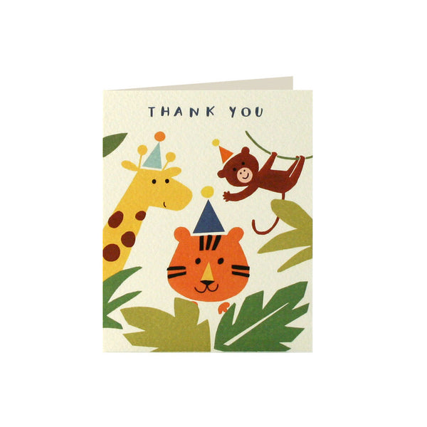 Jungle Thank You Cards (Pack of 5)  Thank You Cards James Ellis - Hello Party