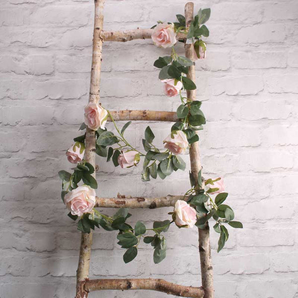 Light Pink Rose Garland Party Wedding Decorations