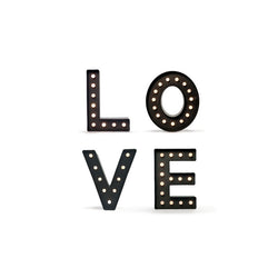 LOVE LED Marquee lights  Lights Ginger Snap - Hello Party