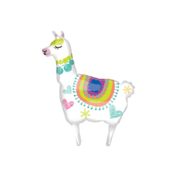 "Llarge Llama Foil Balloon (41"")  Balloons Anagram - Hello Party"