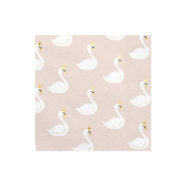 Lovely Swan Napkins  Napkins Party Deco - Hello Party