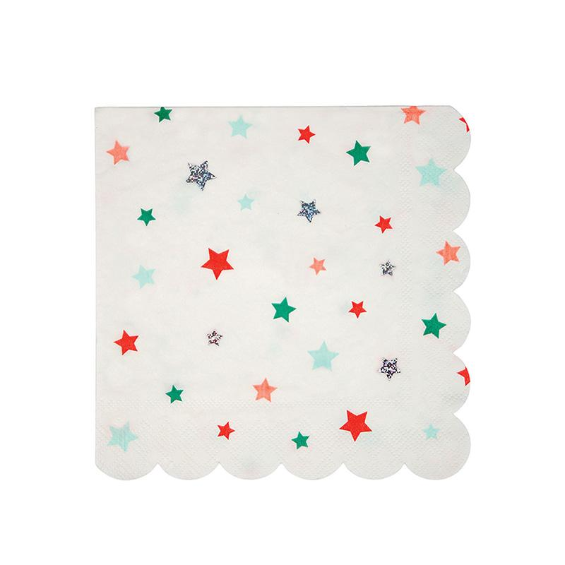 Star Pattern Napkins  Napkins Meri Meri - Hello Party