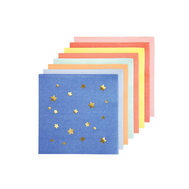 Jazzy Star Small Star Napkins  Napkins Meri Meri - Hello Party