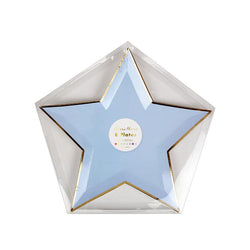 Jazzy Star Plates  Party Plates Meri Meri - Hello Party