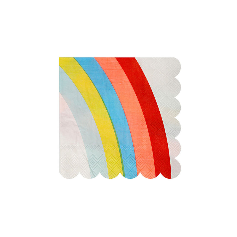 Rainbow Small Napkins  Napkins Meri Meri - Hello Party
