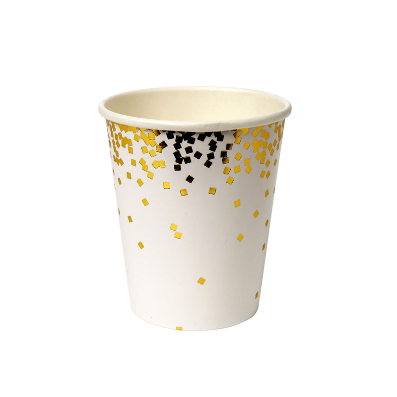 Gold Confetti Party Cup  Party Cups Meri Meri - Hello Party