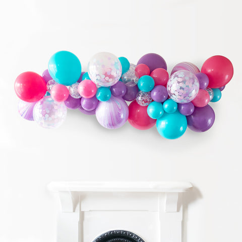 Mesmerising Mermaid Balloon Cloud Garland Installation Kit