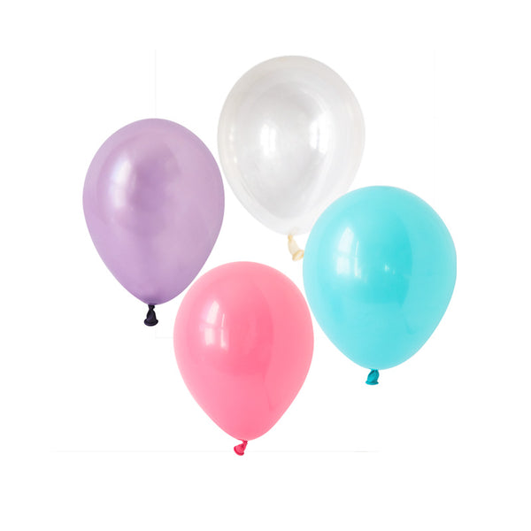 Mesmerising Mermaid Mix Balloons (pack of 12)  Latex Balloons Hello Party Essentials - Hello Party