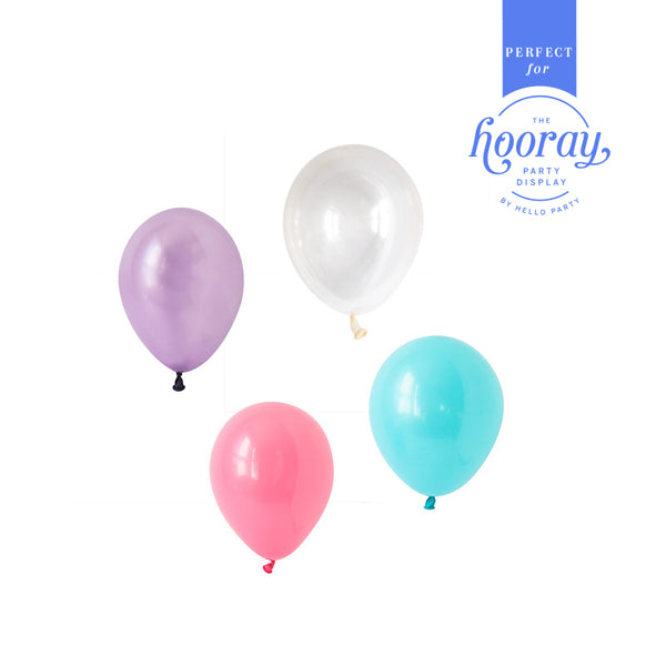 Mesmerising Mermaid Balloons Hooray Party Display Contents Pack  Fillable Cake Stand Content Packs Hello Party - Hello Party