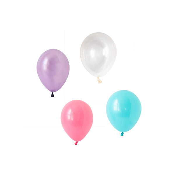 Mesmerising Mermaid Mini Balloon Mix (pack of 12)  Mini Latex Balloon Collections Hello Party Essentials - Hello Party