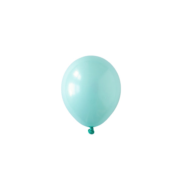 Mini Aqua Mint Green Balloons (Pack of 5)  Mini Latex Balloons Hello Party Essentials - Hello Party