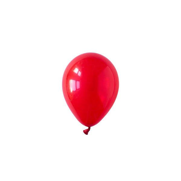 Mini Ruby Red Party Balloons (Pack of 5)