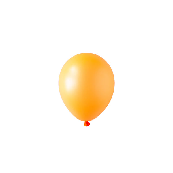 Mini Neon Orange Balloons | Biodegradable | Modern Party Supplies