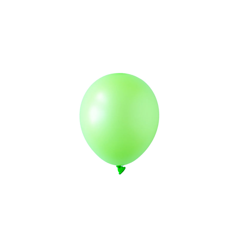 Mini Neon Green Balloons | Biodegradable | Modern Party Supplies