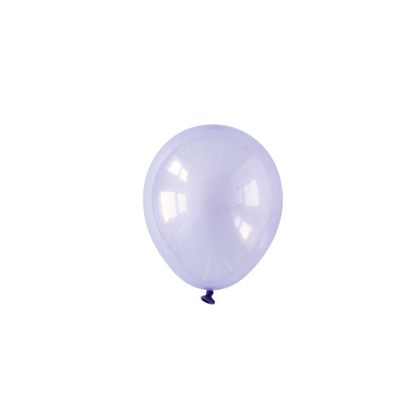 Mini Pastel Lilac Crystal Party Balloons (pack of 5)