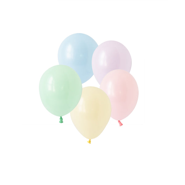 Chalky Pastel Mini Balloon Mix (pack of 10)  Latex Balloons Hello Party Essentials - Hello Party