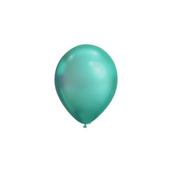 MINI Chrome Green Balloons (pack of 5)