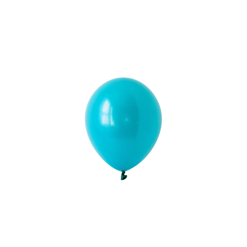 Mini Teal Balloons (Pack of 5)  Mini Latex Balloons Hello Party Essentials - Hello Party