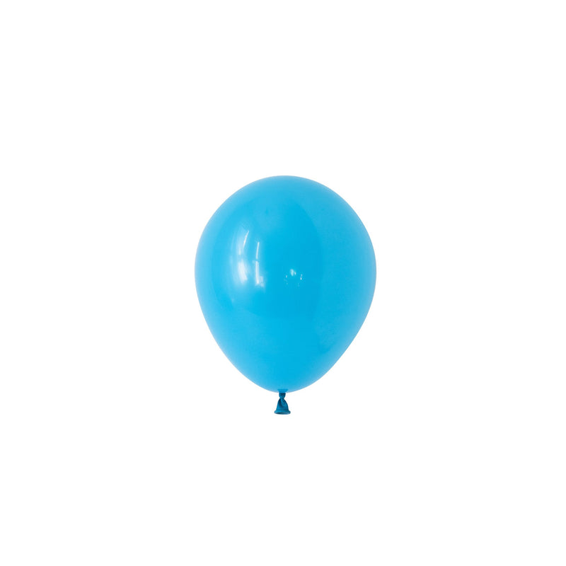Mini Robin's Egg Blue Balloons (Pack of 5)  Mini Latex Balloons Hello Party Essentials - Hello Party