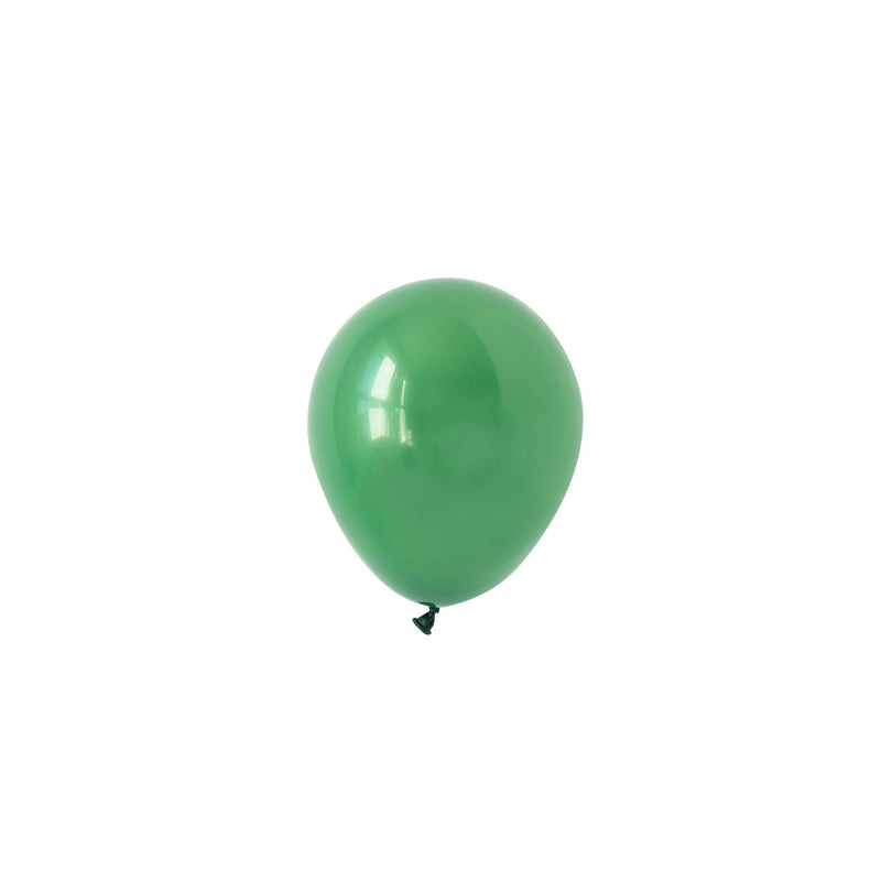 Mini Green Balloons (Pack of 5)  Mini Latex Balloons Hello Party Essentials - Hello Party