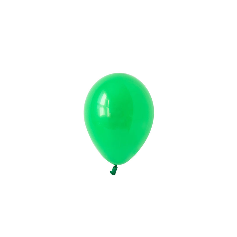 Mini Spring Green Balloons (Pack of 5)  Mini Latex Balloons Hello Party Essentials - Hello Party