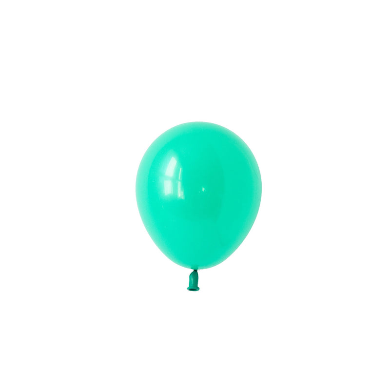 Mini Wintergreen Balloons (Pack of 5)  Mini Latex Balloons Hello Party Essentials - Hello Party