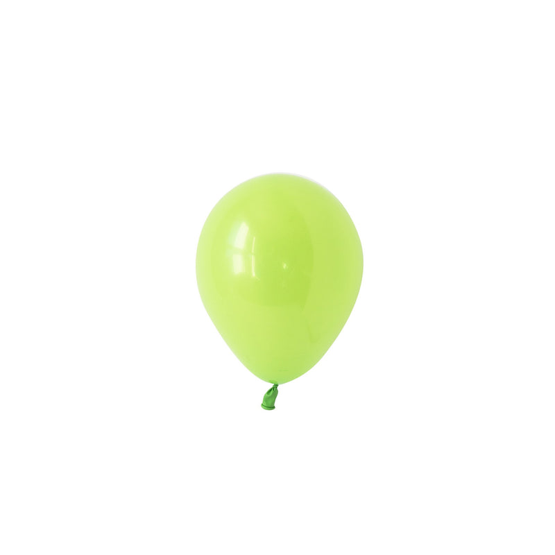Mini Lime Green Balloons (Pack of 5)  Mini Latex Balloons Hello Party Essentials - Hello Party