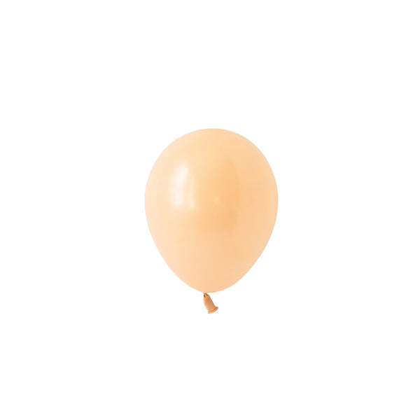 Mini Blush Balloons (pack of 5)  Mini Latex Balloons Hello Party Essentials - Hello Party