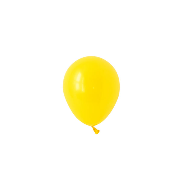 Mini Yellow Balloons (Pack of 5)
