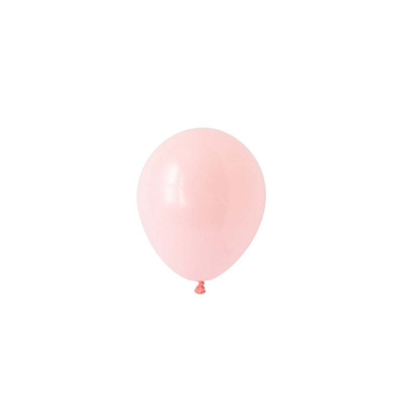 Mini Light Pink Balloons (Pack of 5)  Mini Latex Balloons Hello Party Essentials - Hello Party