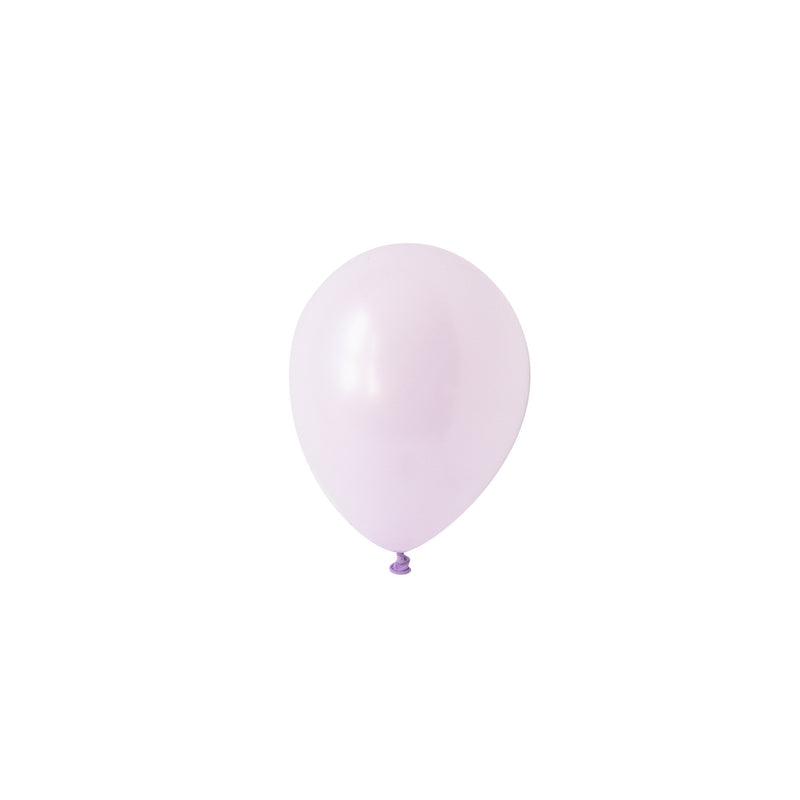 Mini Chalky Pastel Lilac Balloons (Pack of 5)  Mini Latex Balloons Hello Party Essentials - Hello Party