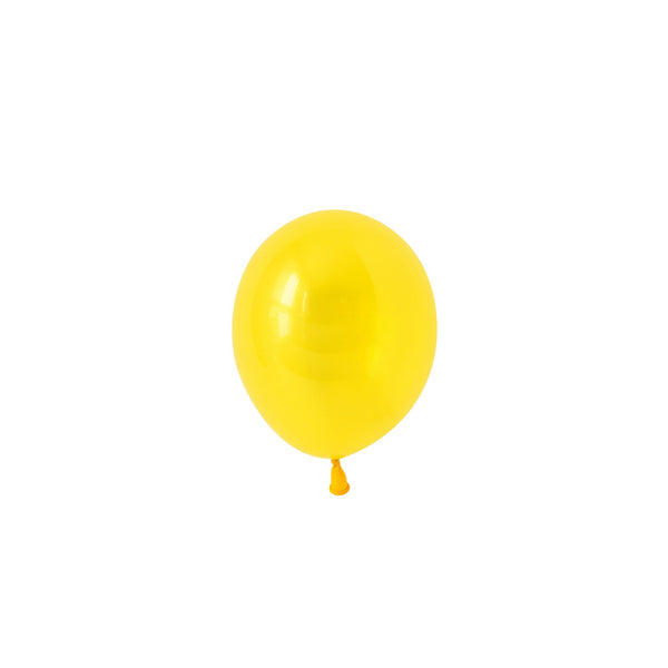 Mini Citrine Yellow Balloons (Pack of 5)